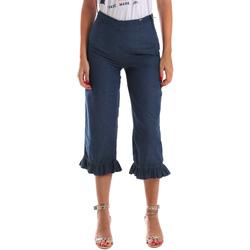 Textiel Dames ¾ jeans & 7/8 jeans Fracomina FR19SM502 Blauw