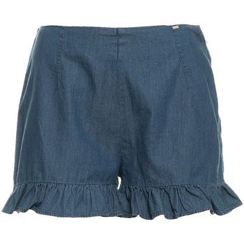 Textiel Dames Korte broeken / Bermuda's Fracomina FR19SM503 Blauw
