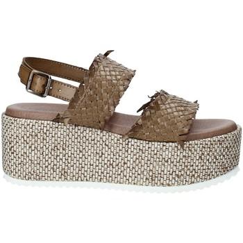 Schoenen Dames Sandalen / Open schoenen Pregunta IBH6649 Bruin