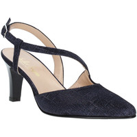 Schoenen Dames pumps Soffice Sogno E9360 Blauw