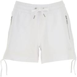 Textiel Dames Korte broeken / Bermuda's Ea7 Emporio Armani 3GTS52 TJ31Z Wit