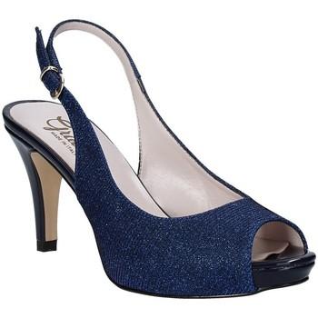 Schoenen Dames Sandalen / Open schoenen Grace Shoes 738I003 Blauw