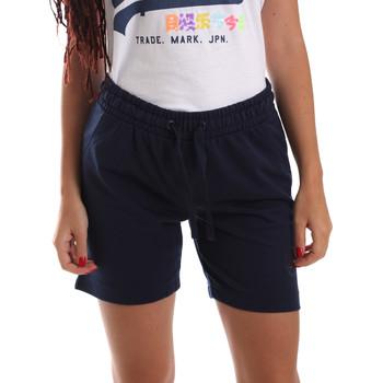 Textiel Dames Korte broeken / Bermuda's Key Up 5F59G 0001 Blauw