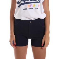 Textiel Dames Korte broeken / Bermuda's Key Up 5L79G 0001 Blauw