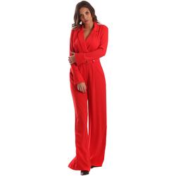 Textiel Dames Jumpsuites / Tuinbroeken Byblos Blu 2WD0010 TE0012 Rood