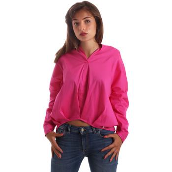 Textiel Dames Overhemden Byblos Blu 2WR0004 TE0014 Roze
