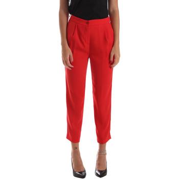 Textiel Dames Chino's Byblos Blu 2WP0002 TE0012 Rood