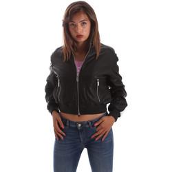 Textiel Dames Leren jas / kunstleren jas Byblos Blu 2WS0004 LE0009 Zwart