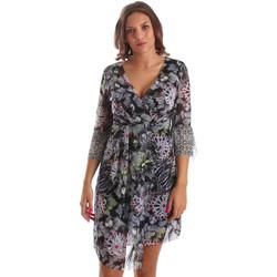 Textiel Dames Korte jurken Smash S1984413 Zwart