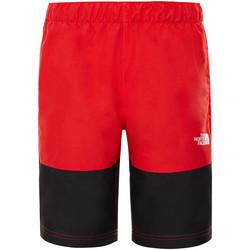 Textiel Kinderen Zwembroeken/ Zwemshorts The North Face T93NNH Rood