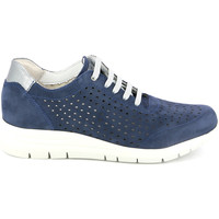 Schoenen Dames Lage sneakers Grunland SC4440 Blauw