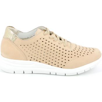 Schoenen Dames Lage sneakers Grunland SC4440 Roze