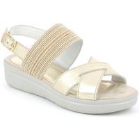 Schoenen Dames Sandalen / Open schoenen Grunland SA1872 Goud