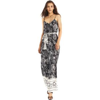 Textiel Dames Jumpsuites / Tuinbroeken Gaudi 911FD25027 Zwart