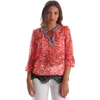 Textiel Dames Tops / Blousjes Gaudi 911BD45013 Rood