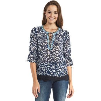 Textiel Dames Tops / Blousjes Gaudi 911BD45013 Blauw