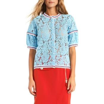 Textiel Dames Tops / Blousjes Gaudi 911BD55001 Blauw