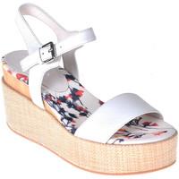 Schoenen Dames Sandalen / Open schoenen Lumberjack SW40006 001 B01 Wit