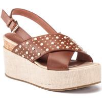 Schoenen Dames Sandalen / Open schoenen Lumberjack SW40006 006 Q12 Bruin