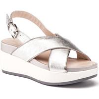 Schoenen Dames Sandalen / Open schoenen Lumberjack SW27006 009 O16 Zilver