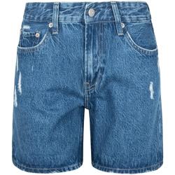 Textiel Dames Korte broeken / Bermuda's Pepe jeans PL800847GQ8 Blauw