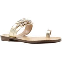 Schoenen Dames Slippers Gold&gold A19 GL303 Goud