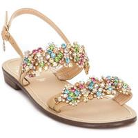 Schoenen Dames Sandalen / Open schoenen Gold&gold A19 GL306 Bruin