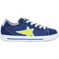 Schoenen Kinderen Lage sneakers Nero Giardini P933450M Bleu
