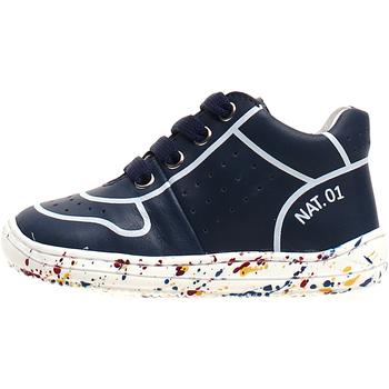 Schoenen Kinderen Hoge sneakers Naturino 2013460-01-1C69 Blauw