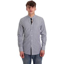 Textiel Heren Overhemden lange mouwen Antony Morato MMSL00588 FA420042 Blauw