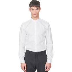 Textiel Heren Overhemden lange mouwen Antony Morato MMSL00604 FA440031 Wit