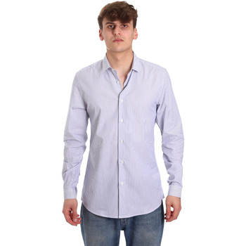Textiel Heren Overhemden lange mouwen Antony Morato MMSL00596 FA420090 Wit