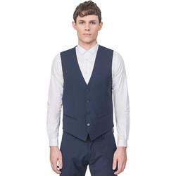 Textiel Heren Vesten / Cardigans Antony Morato MMVE00087 FA650176 Blauw