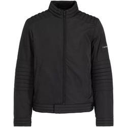 Textiel Heren Trainings jassen Calvin Klein Jeans K10K104435 Zwart