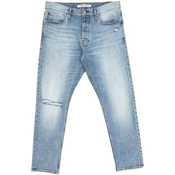 Textiel Heren Straight jeans Calvin Klein Jeans J30J312380 Bleu