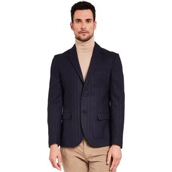 Textiel Heren Jasjes / Blazers Gaudi 921FU35057 Blauw