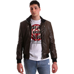 Textiel Heren Leren jas / kunstleren jas Gaudi 921BU38001 Bruin