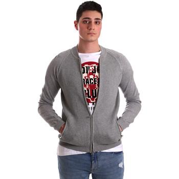 Textiel Heren Vesten / Cardigans Gaudi 921BU53015 Grijs