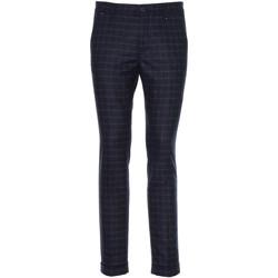 Textiel Heren Anzughosen Nero Giardini A970573U Bleu
