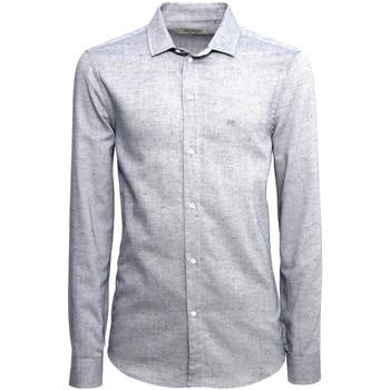 Textiel Heren Overhemden lange mouwen Nero Giardini A973180U Bleu