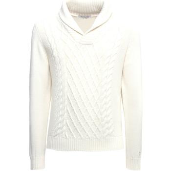 Textiel Heren Truien Nero Giardini A974530U Blanc