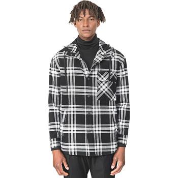 Textiel Heren Overhemden lange mouwen Antony Morato MMSL00555 FA410113 Zwart