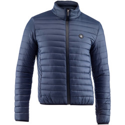Textiel Heren Dons gevoerde jassen Lumberjack CM37822 005 407 Blauw
