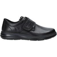 Schoenen Heren Mocassins Enval 4224100 Zwart