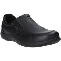 Schoenen Heren Mocassins Enval 4233400 Zwart
