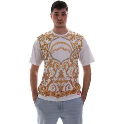 Textiel Heren T-shirts korte mouwen Sprayground SP019S Wit