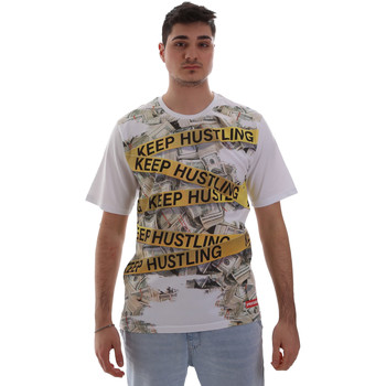 Textiel Heren T-shirts korte mouwen Sprayground SP017S Wit