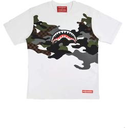 Textiel Heren T-shirts korte mouwen Sprayground SP022S Wit