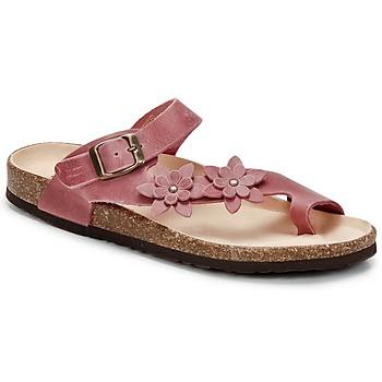 Schoenen Dames Slippers Dream in Green MINIK  FUCHSIA