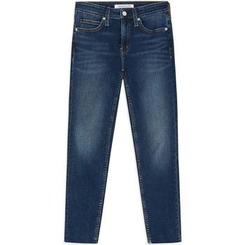 Textiel Dames Skinny Jeans Calvin Klein Jeans J20J211886 Blauw